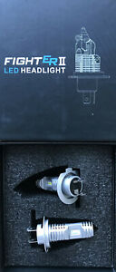 Led Headlight Dual H7 Kit Conversion Headlamp ZX6R Z900 ZX10R Z800 Z1000 SX