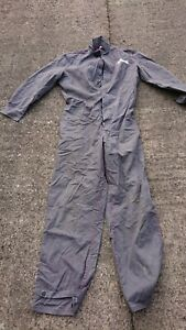 Ladies Or Mens Use Grey Colour Boilersuit Or Overalls.