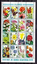 Postfrisch 1995 Blumen kompl.ausg. Guinea Block497
