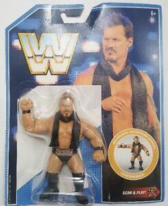 WWE Mattel Retro Series 7 Chris Jericho Wrestling Figure Wrestlemania NEW MOC