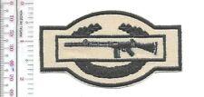 Rhodesia Army Rhodesian Defence Force RDF Combat Infantry Badge khaki m