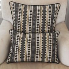 Handmade Cotton Blend Rectangular Decorative Cushions & Pillows