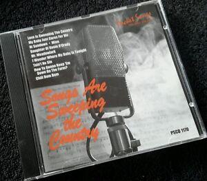 Karaoke cdg disc Pocket Songs PSCD1170 Country Sweep, see Descrp,10+10 multitrak