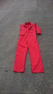 Dickies Ladies or Mens Or Kids Red Colour Boilersuit Or Overalls.