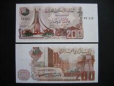 ALGERIA  200 Dinars 23.3.1983  (P135a)  UNC