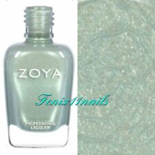 ZOYA ZP890 LACEY light green sparkle nail polish lacquer~CHARMING Collection NEW
