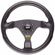 OMP Racing GP Flat Steering Wheel Polyurethane 330mm Black