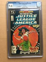 CGC Comic graded 9.6 DC JLA Justice league of America  #259 Key film