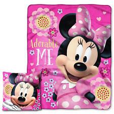 "The Northwest Company Disney's Minnie Mouse ""Adorable Me"" Pillow & Throw Set"