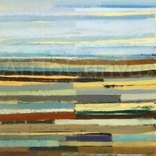 LANDFORM I (24x24) and II (24x24) SET by DAVID BAILEY ABSTRACT 2PC CANVAS