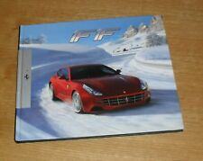 Ferrari FF cartonnée brochure livre 2011-2013