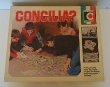 CONCILIA? - gioco da tavolo CLEMENTONI COMPLETO