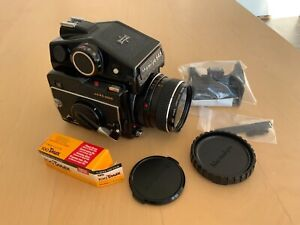 Beautiful MAMIYA M645 1000S CdS Prism Finder  + SEKOR C 80mm f/2.8 from JAPAN