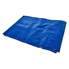 Heavy Duty Waterproof Strong Cover Ground Sheet 6' X 9' Tarpaulin - Blue