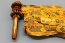 NOS YAMAHA DT125 DT175 MAIN ASSY WITH GEARS AXLE PART# 443-17410-00-00
