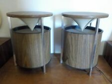Mid-Century ZENITH CIRCLE OF SOUND Omni Directional Speakers--Excellent!