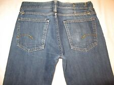 G - Star Raw Mens Jeans SC Core Regular Low Relaxed Distressed 32 X 26