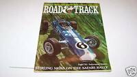 JUNE 1966 ROAD AND TRACK car magazine STIRLING MOSS