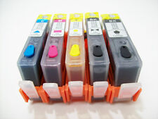 Refillable ink cartridge for HP 564XL 564 All-in-One Printer B209a B210a