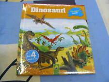Dinosauri con pagine lavabili Guarda e Scopri 4+ anni