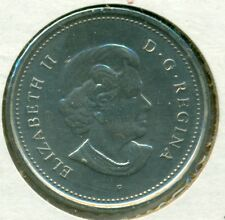 2005-P CANADA FIVE CENTS, CHOICE BRILLIANT UNCIRCULATED, GREAT PRICE!