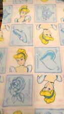 Princess Cinderella Patches Fleece Fabric Anti Pill