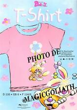 T-Shirt brodé DIDDL PIMBOLI enfant fille 6 ans rose sous vêtement DIDDLINA NEUF