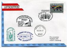 1994 Luftschiffpost n. 8 Pro Juventute Dirigibile OE-ZHZ Ledenitzen Niklas ONU
