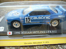 1990 NISSAN SKYLINE GTR R32   SCALA 143 DELPRADO