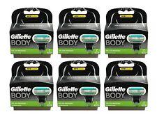12x Gillette Body Klingen 6x 2er = 12er razor blades Gilette Gillete Gilete OVP