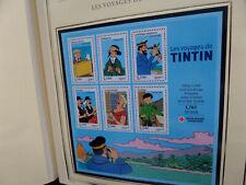 Bloc Feuillet BF109 - Les voyages de Tintin - 2007 LUXE★★