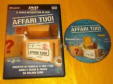AFFARI TUOI - DVD GAME Versione Italiana ○○○○ USATO Abbinamento Editoriale - BO