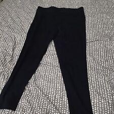 Evans Navy Leggings Size 22