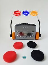 Personal cassette player SONY WALKMAN  NEW BELTS CLEANED WORKING & TESTED!