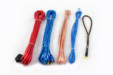 6mm² Kabelset Anschlußset Quadrat Stromkabel Carhifi Verkabelung Stecker