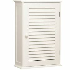 Single door Shutter due Scaffale Bianco Bagno Wall Mounted Storage Cabinet STYLE