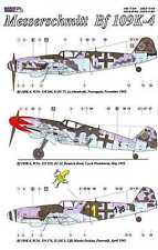 AML Models Decals 1/72 MESSERSCHMITT Bf-109K-4 Fighter Part 2 with Resin Wheels