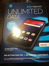 AT&T Prepaid - LG Xpression Plus Cell Phone Blue - Ships Same Day! - NEW!
