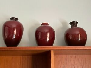 Unbeatable Deal for All Three Roseville Vases / Lamp Bases Incredible Collection