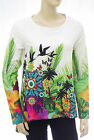 DESIGUAL tee shirt tunique femme TS ARIAN 61T24M5 coloris 1000 taille S