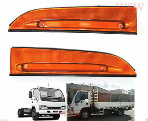 Isuzu Truck Npr Nqr Elf 2002 03 04 05 06 Front Head Lamp Light Marker Reflectors