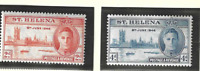 St. Helena Stamps Scott #128 To 129, Mint Never Hinged