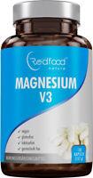 Magnesium V3 ⭐ AKTION ⭐ hochdosiert XXL Dose 150 Kapseln 1050mg Magnesium