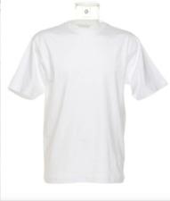 KUSTOM KIT Superior Crew T-Shirt/White - 6XL TWIN PACK