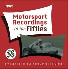 MOTORSPORT RECORDINGS OF THE FIFTIES 1956-58. 2 CD FANGIO etc. 127 MIN DUKE 9956