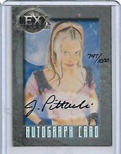 LEXX Autograph Card A11 Jeff Pittarreli (Xev, 1000) Dynamic Forces LTD 1000