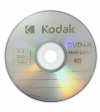 5 Pieces LOGO DVD+R DL Dual Double Layer Disc Media with Paper Sleeves