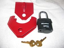 Trailer Hitch Lock - Top Security - MADE IN THE USA