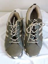 The Children's Place size 5 Army Shoes Suede Green Boys Military NWOT Camoflauge