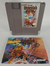 Castlevania III: Dracula's Curse (Nintendo Entertainment System, 1990) w/ Manual